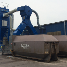Production waste extraction