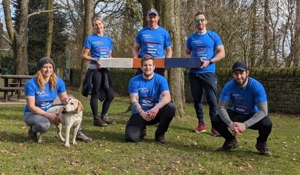 Eight take on 100km to raise £5k for the MND Association