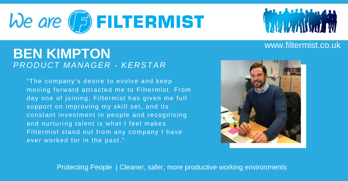 We Are Filtermist....Ben Kimpton