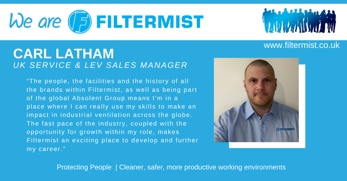 We are Filtermist... Carl Latham