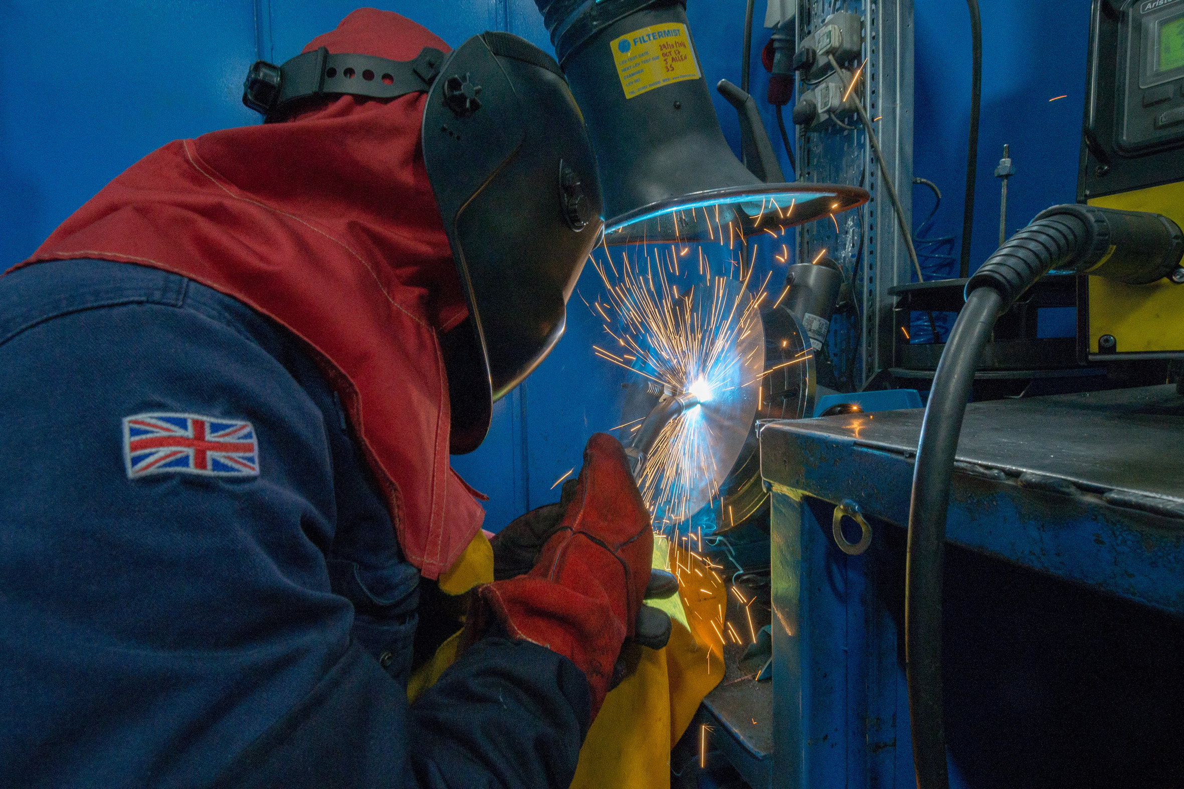 Manufacturers warned about change in mild steel welding fume legislation