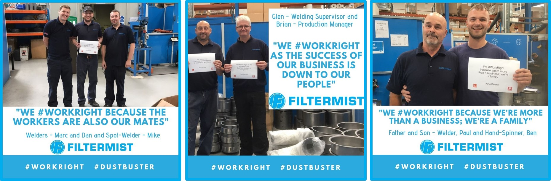 Filtermist gets behind the HSE's Dustbuster Campaign