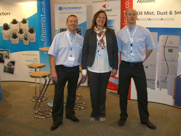 Filtermist and Absolent Success at MACH2012