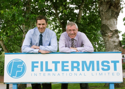New Filtermist MD follows in father's footsteps