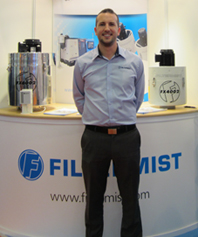 Filtermist appoints new Area Sales Manager