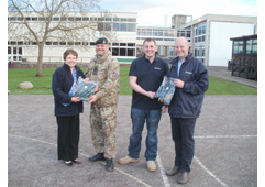 Bridgnorth businesses join forces to support local army cadets
