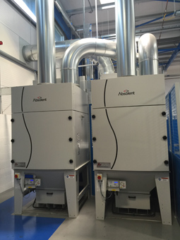 Filtermist buys and supplies centralised fume extraction system