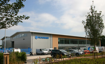 Filtermist HQ has moved to Telford