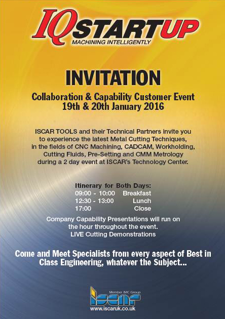 Filtermist collaborates with Iscar Tools at customer event