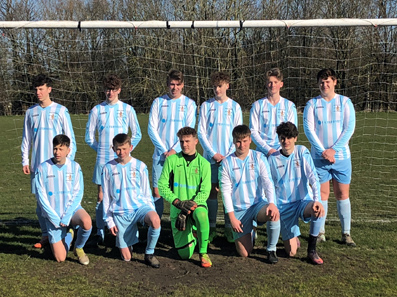 Shifnal Harriers U16s score in Filtermist kit