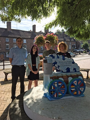 Filtermist Steams Ahead with local students in Bridgnorth Art Trail